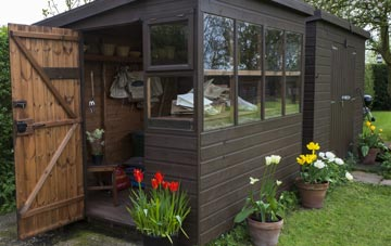 garden sheds city of edinburgh
